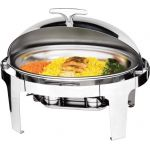 Chafing Dish oval cu capac roll-top, Saporoso